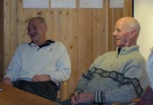 Olav Teigland og Jon K. Versto