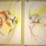 Brynhild Elvira Winther/ Teikning