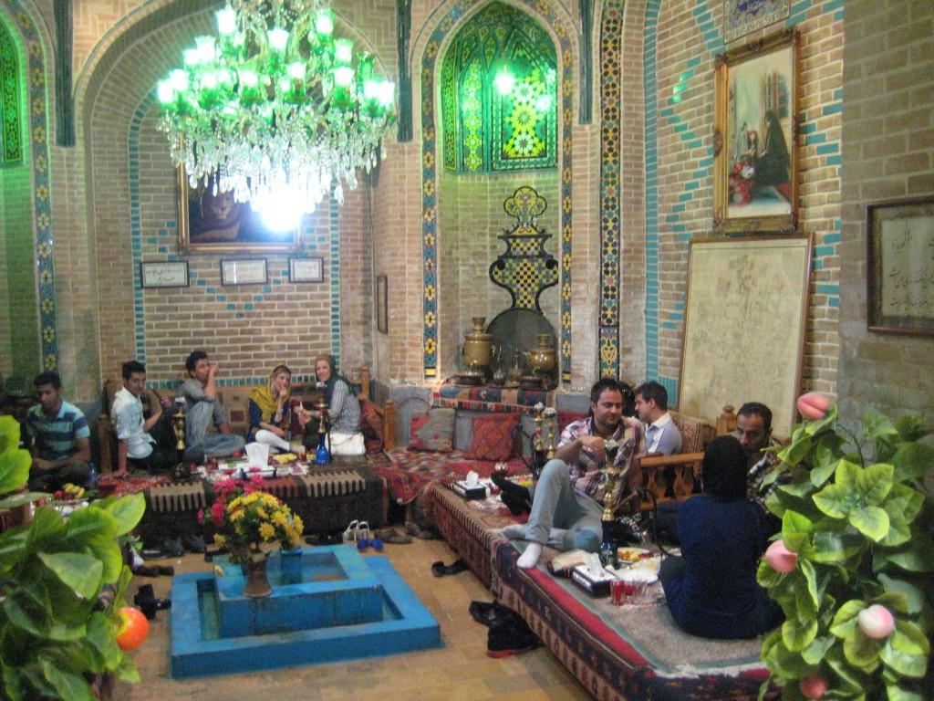 Teheran, tehus i basaren
